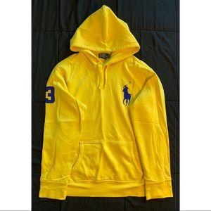 Men's Polo Ralph Lauren Neon Yellow Hoodie XXL